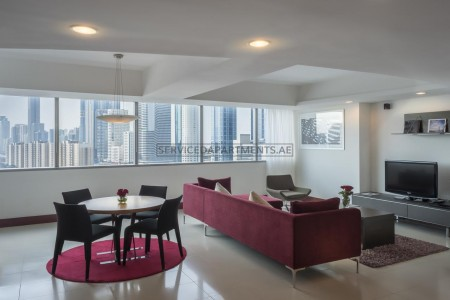 Furnished 2 Bedroom Hotel Apartment in Sheikh Zayed Road