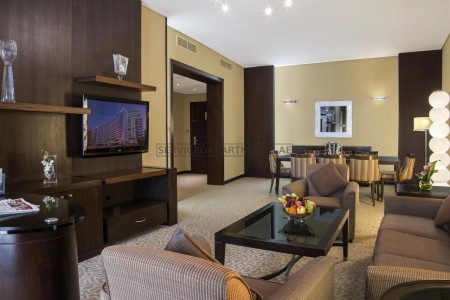 Furnished 2 Bedroom Hotel Apartment in Time Oak Hotel & Suites