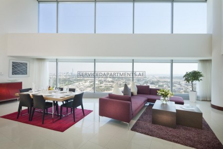 Furnished 3 Bedroom Hotel Apartment in Sheikh Zayed Road
