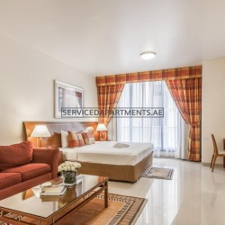 Furnished Studio Hotel Apartment in Golden Sands Hotel Apartments 5