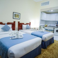 Furnished Studio Hotel Apartment in Green House Hotel