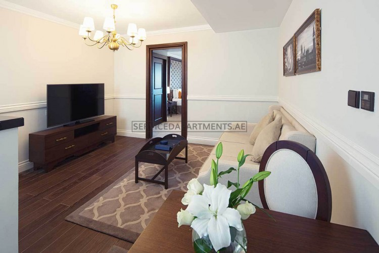 Furnished 1 Bedroom Hotel Apartment in Dukes The Palm