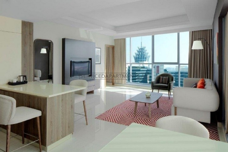 Furnished 2 Bedroom Hotel Apartment in Radisson Blu Hotel Apartments DSO