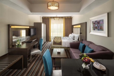 Furnished Studio Hotel Apartment in Savoy Central Hotel Apartments