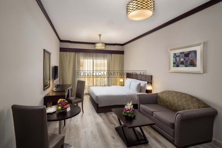 Furnished Studio Hotel Apartment in Savoy Crest Hotel Apartments