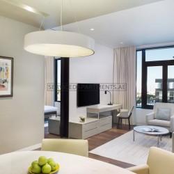 Furnished 1 Bedroom Hotel Apartment in La Ville Hotel & Suites