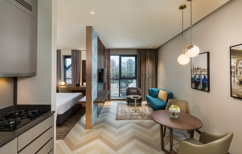 Furnished Studio Hotel Apartment in Millennium Place Barsha Heights