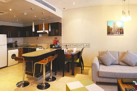 Furnished 1-Bedroom Hotel Apartment in City Premiere Deluxe Hotel Apartments