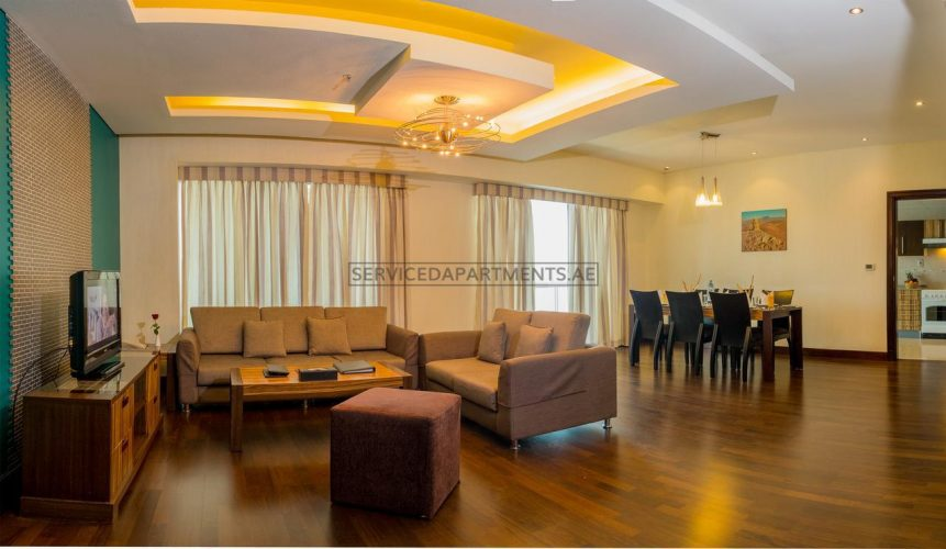 Furnished 2-Bedrooms Hotel Apartment in City Premiere Deluxe Hotel Apartments