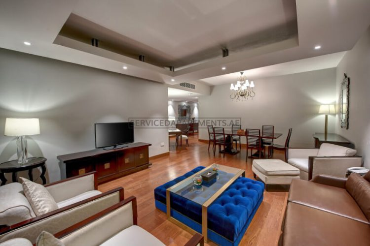 Furnished 3-Bedrooms Hotel Apartment in Number One Tower Suites