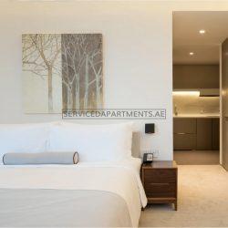 Furnished Studio Hotel Apartment in Intercontinental Dubai Marina
