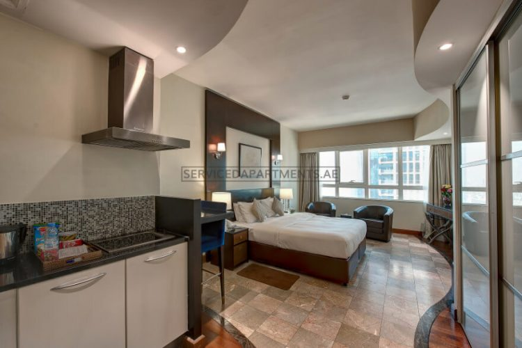 Furnished Studio Hotel Apartment in Number One Tower Suites