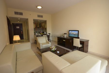 Furnished 1-Bedroom Hotel Apartment in Parkside Hotel Apartments
