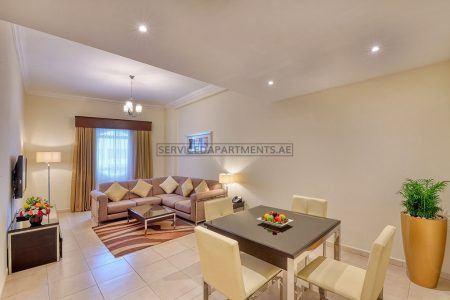 Furnished 1-Bedroom Hotel Apartment in Pearl Marina Hotel Apartments