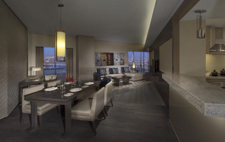 Furnished 2-Bedrooms Hotel Apartment in Hyatt Regency Dubai Creek Heights