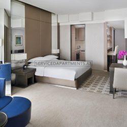 Furnished Studio Hotel Apartment in Hyatt Regency Dubai Creek Heights