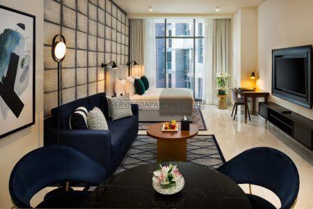 Furnished Studio Hotel Apartment in Millennium Atria Business Bay