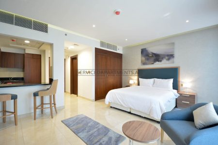 Furnished Studio Hotel Apartment in The Suha Park