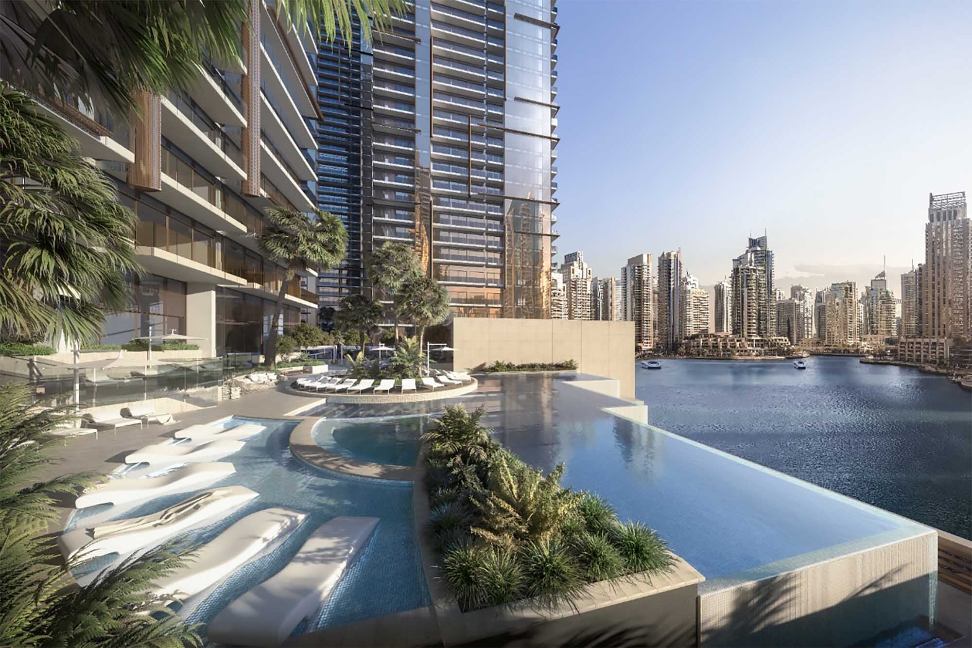 Jumeirah Living Marina Gate Pool