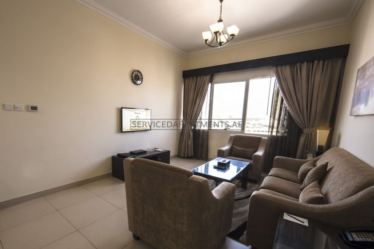 Furnished 1-Bedroom Hotel Apartment in Ivory Grand Hotel Apartments