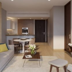 Furnished 1-Bedroom Hotel Apartment in Jumeirah Living Marina Gate
