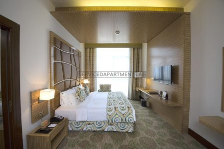 Furnished 1-Bedroom Hotel Apartment in Pearl Executive Hotel Apartments