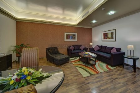 Furnished 2-Bedrooms Hotel Apartment in Al Khoory Hotel Apartments