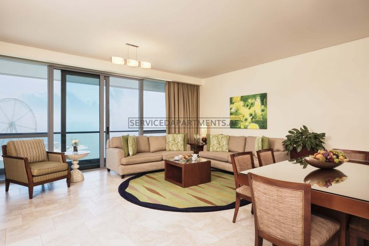 Furnished 2-Bedrooms Hotel Apartment in JA Oasis Beach Tower