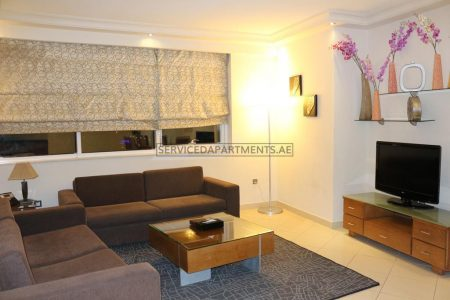 Furnished 2-Bedrooms Hotel Apartment in Pearl Executive Hotel Apartments