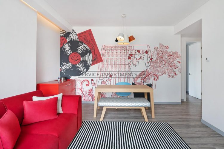 Furnished 2-Bedrooms Hotel Apartment in Radisson RED Hotel DSO