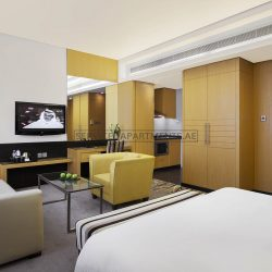 Furnished Studio Hotel Apartment in Hala Arjaan by Rotana