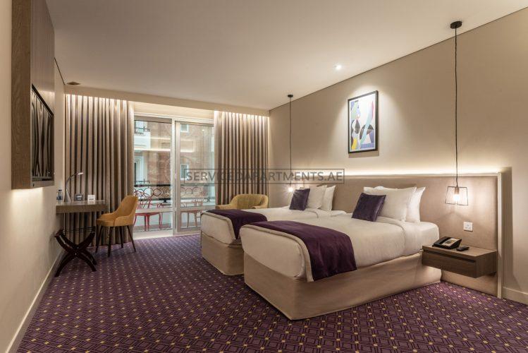 Furnished Studio Hotel Apartment in Leva Hotel and Suites