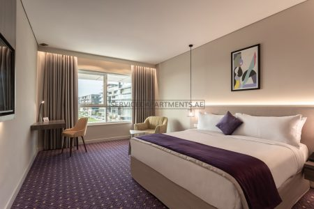 Furnished Studio Hotel Apartment in Leva Hotel and Suites