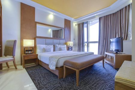 Furnished Studio Hotel Apartment in Pearl Executive Hotel Apartments