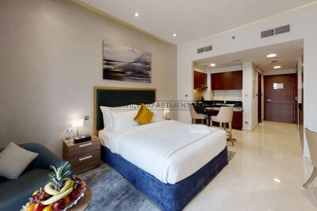 Furnished Studio Hotel Apartment in The Suha Creek
