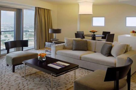 Furnished 1-Bedroom Hotel Apartment in Address Dubai Mall Residences