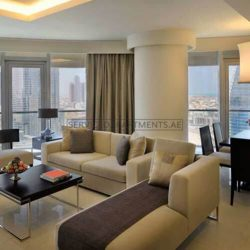 Furnished 3-Bedrooms Hotel Apartment in Address Dubai Mall Residences