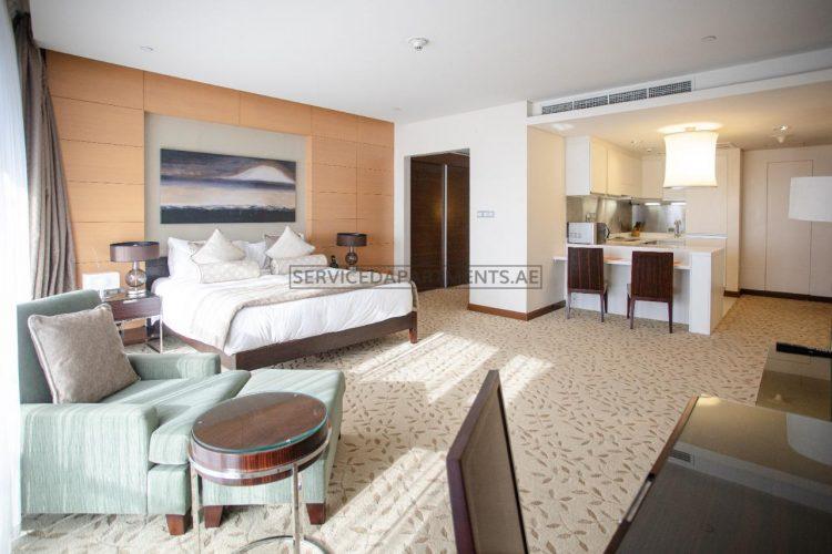 Furnished Studio Hotel Apartment in Address Dubai Mall Residences