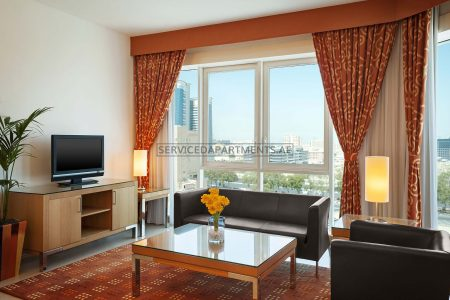 Furnished 1-Bedroom Hotel Apartment in Four Points By Sheraton Downtown Dubai