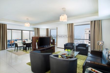 Furnished 4-Bedrooms+ Hotel Apartment in Delta Hotels by Marriott Jumeirah Beach