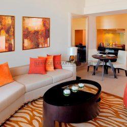Furnished 1-Bedroom Hotel Apartment in Marriott Executive Apartments Al Jaddaf
