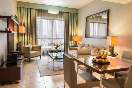 Furnished 1-Bedroom Hotel Apartment in Suha JBR Hotel Apartments