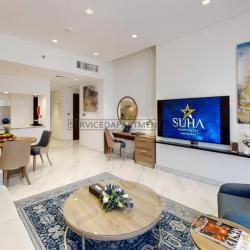 Furnished 1-Bedroom Hotel Apartment in Suha Mina Rashid Hotel Apartments