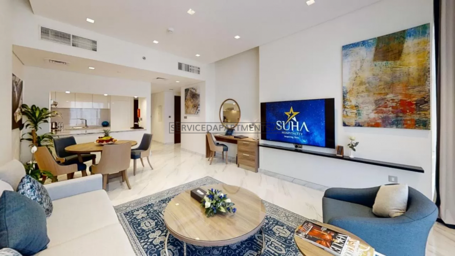 Furnished 1-Bedroom Hotel Apartment in Suha Mina Rashid Hotel Apartments