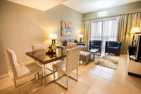 Furnished 2-Bedrooms Hotel Apartment in Suha JBR Hotel Apartments