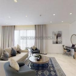 Furnished 2-Bedrooms Hotel Apartment in Suha Mina Rashid Hotel Apartments