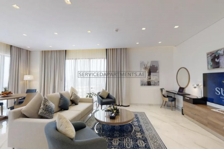 Furnished 2-Bedrooms Hotel Apartment in Suha Mina Rashid Hotel Apartments