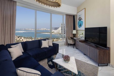 Furnished 2-Bedrooms Hotel Apartment in Avani Palm View Dubai Hotel & Suites