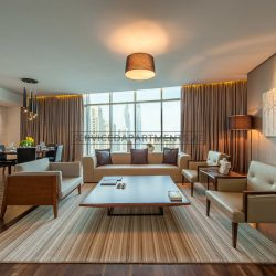 Furnished 4-Bedrooms+ Hotel Apartment in Intercontinental Dubai Marina