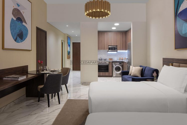 Furnished Studio Hotel Apartment in Avani Palm View Dubai Hotel & Suites